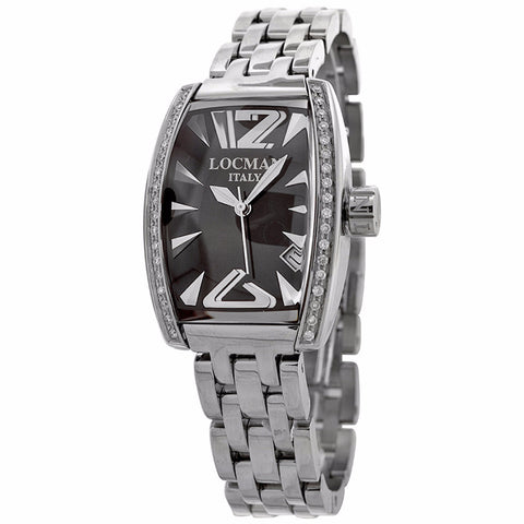 Locman Ladies silver Stainless Steel watch - BrandNamesWatch.com
