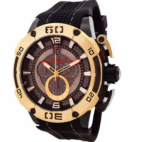 ISW MEN'S CHRONOGRAPH STAINLESS STEEL WATCH ISW-1001-09 - BrandNamesWatch.com