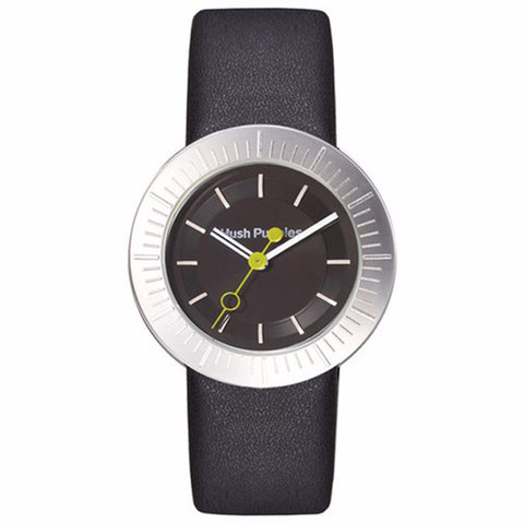 HUSH PUPPIES WOMEN'S BLACK DIAL BLACK LEATHER STRAP WATCH HP.3612L.2502 - BrandNamesWatch.com