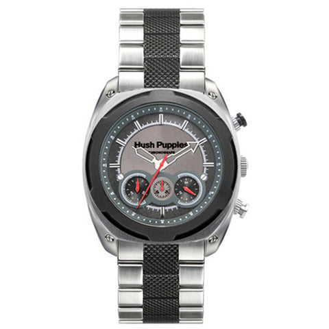 HUSH PUPPIES MEN'S TWO-TONE GRAY STAILESS STEEL CHRONOGRAPH WATCH HP.6047M.1502 - BrandNamesWatch.com