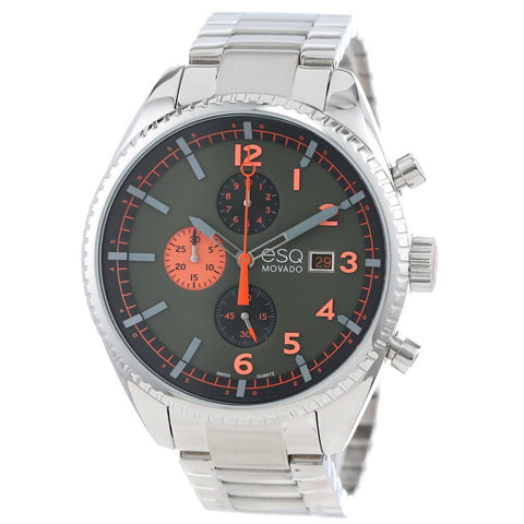 ESQ MOVADO MEN'S STAINLESS STEEL WATCH 07301447 - BrandNamesWatch.com
