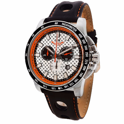 ISW MEN'S CHRONOGRAPH STAINLESS STEEL WATCH ISW-1005-01 - BrandNamesWatch.com