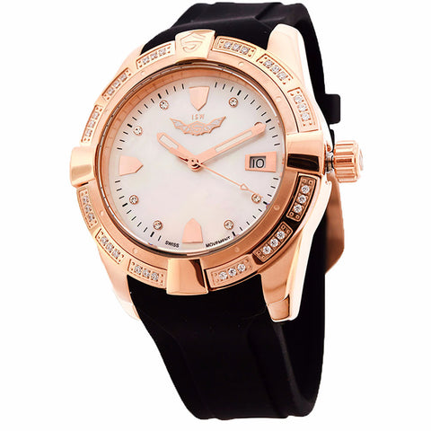 ISW WOMEN'S QUARTZ STAINLESS STEEL WATCH ISW-1008-15 - BrandNamesWatch.com