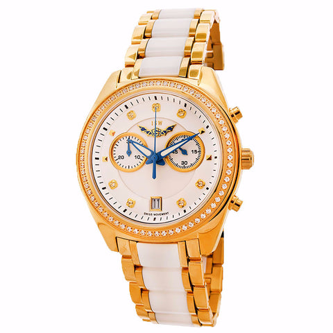 ISW WOMEN'S CHRONOGRAPH STAINLESS STEEL WATCH ISW-1007-02 - BrandNamesWatch.com