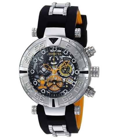 Invicta 24878 Men's Character Collection Quartz Stainless Steel and Silicone Casual Two Tone Watch