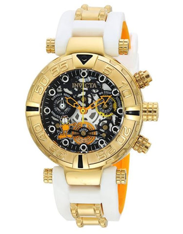 Invicta 24882 Women's Character Collection Quartz Stainless Steel and Silicone Casual Two Tone Watch
