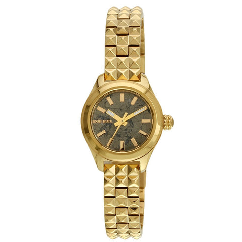 DIESEL Kray Kray Grey Pyrite Dial Ladies Watch DZ5411 - BrandNamesWatch.com