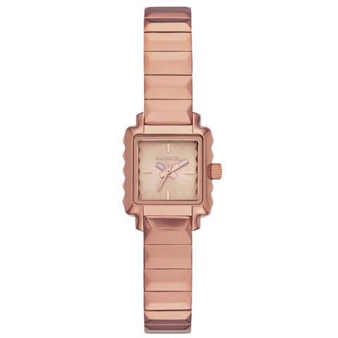 DIESEL Ursula Square Rose Dial Ladies Watch DZ5425 - BrandNamesWatch.com