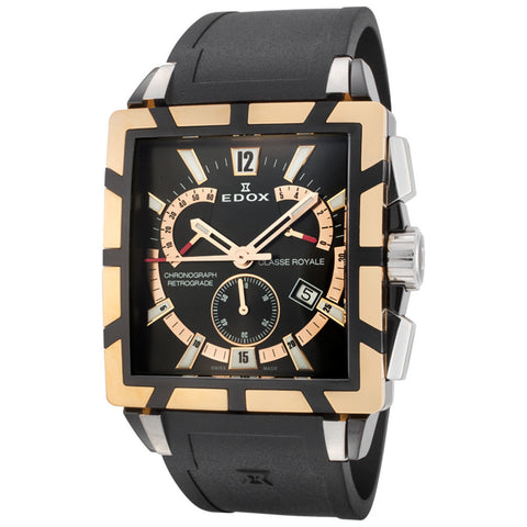 EDOX CLASSE ROYALE MEN'S WATCH 01504 357RN NIR - BrandNamesWatch.com