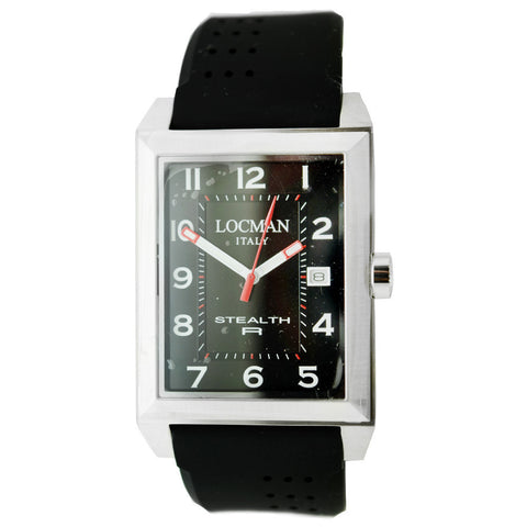Locman Men's Watch 240BK2BK/BKRU - BrandNamesWatch.com