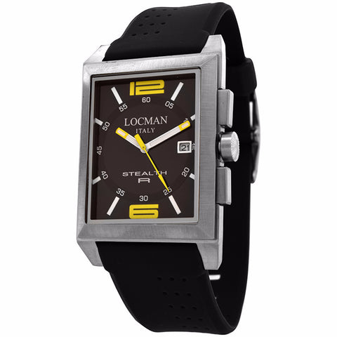 Locman Men's Watch 240BKYL1BK - BrandNamesWatch.com