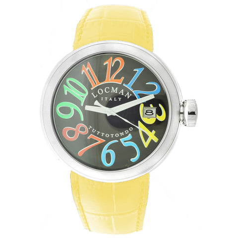 Locman Womens Tuttutondo yellow Watch - BrandNamesWatch.com