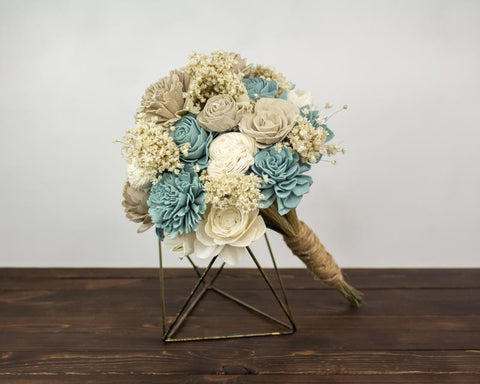 Forever Floral Dusty Skies bouquet