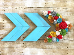 Sola wood flower chevron