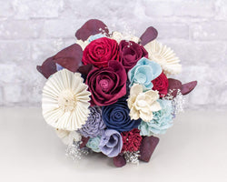 Sola Wood Flowers Craft Kit America The Beautiful Bouquet Kit