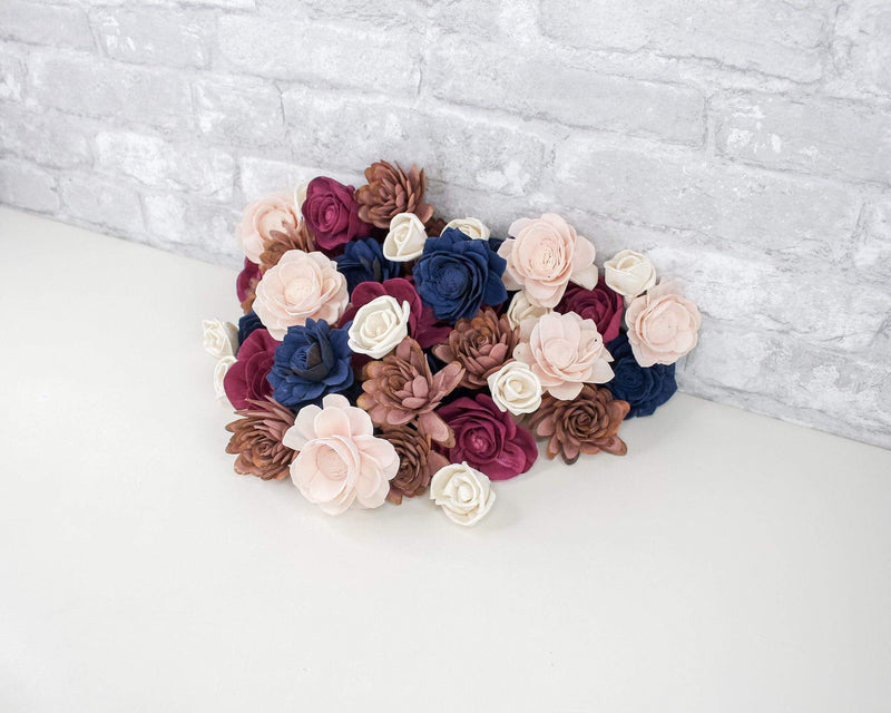 Sola Wood Flowers Dyed flowers Be My Baby Assortment