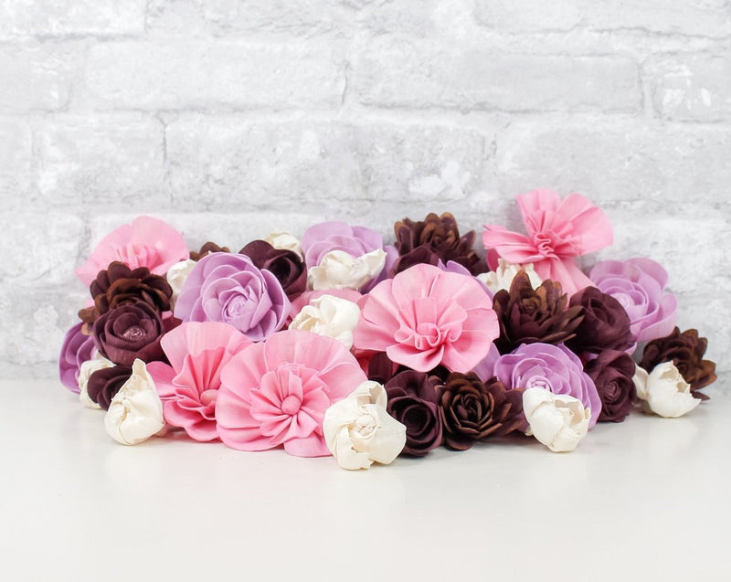 Sola Wood Flowers Dyed flowers Chivalry Assortment