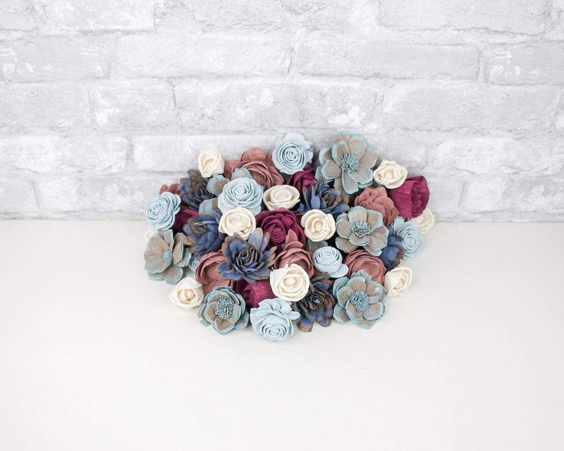 Sola Wood Flowers Dyed flowers Date Night Assortment