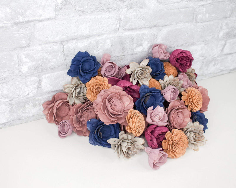 Sola Wood Flowers Dyed flowers It's A Mood Assortment