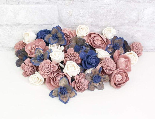 Sola Wood Flowers Dyed flowers Love  Song Mini Assortment
