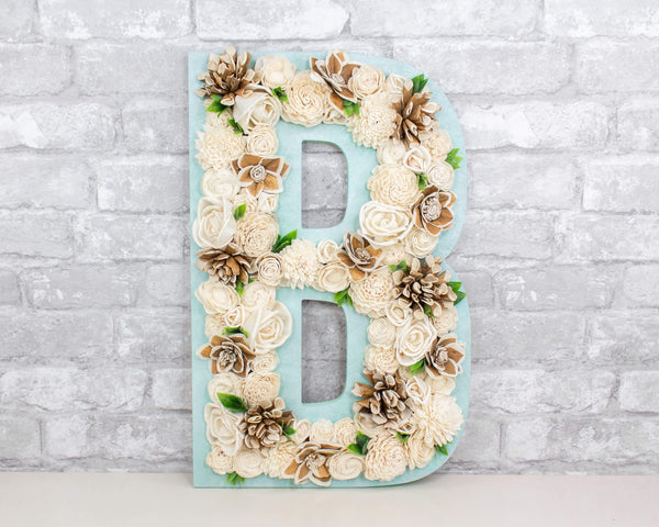 Sola Wood Flowers wood cutout Custom Letter Wood Cutout