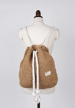 Longing For The Shore  Straw Drawstring Beach Bag