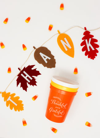 """Thankful"" Thanksgiving Garland"