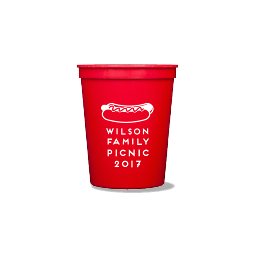 Hotdog Picnic Party Cups