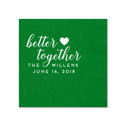 Better Together Cocktail Napkins