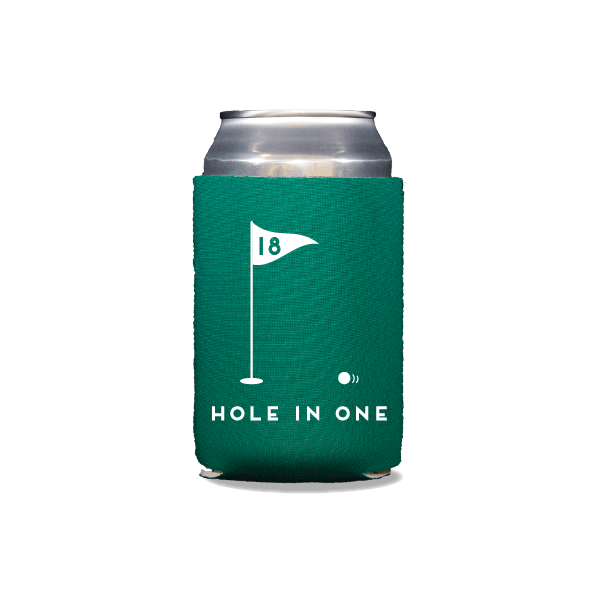 Hole In One Can Coolers