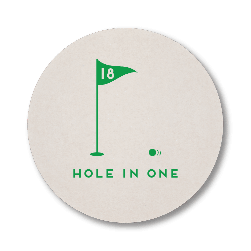Hole In One Coasters