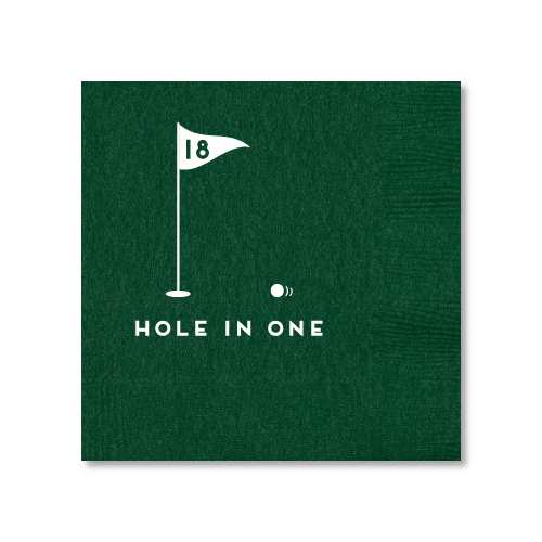 Hole In One Cocktail Napkins