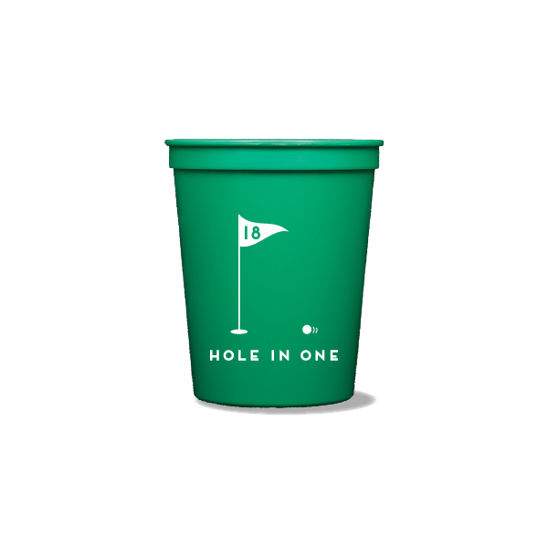 Hole In One Party Cups
