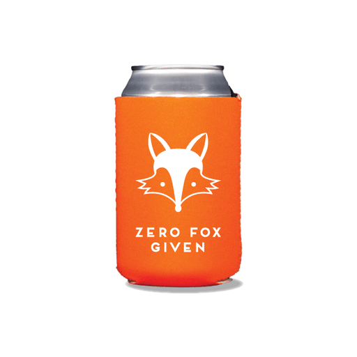 Zero Fox Given Can Coolers