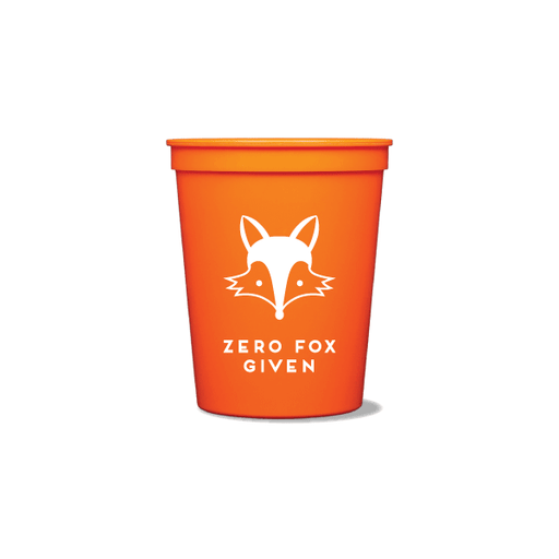 Zero Fox Given Party Cups