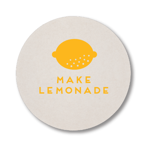 Make Lemonade Coasters