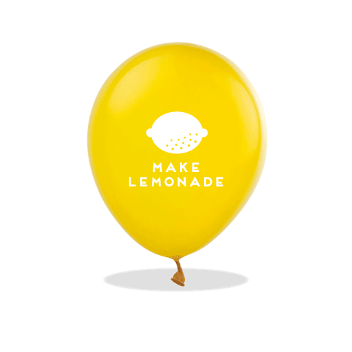 Make Lemonade Latex Balloons