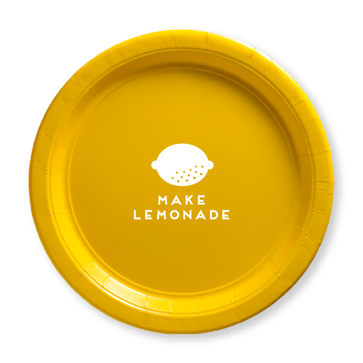Make Lemonade Paper Plates