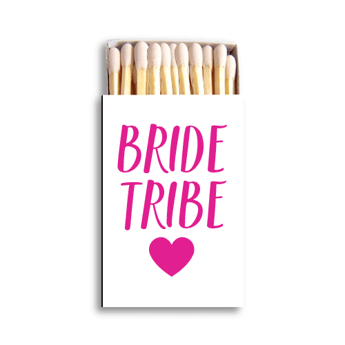 Bride Tribe Matchboxes