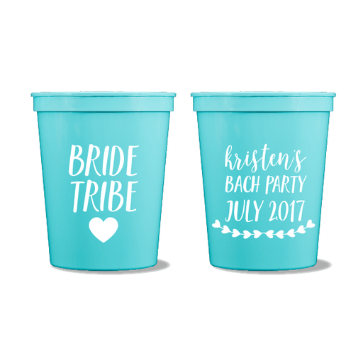Bride Tribe Party Cups