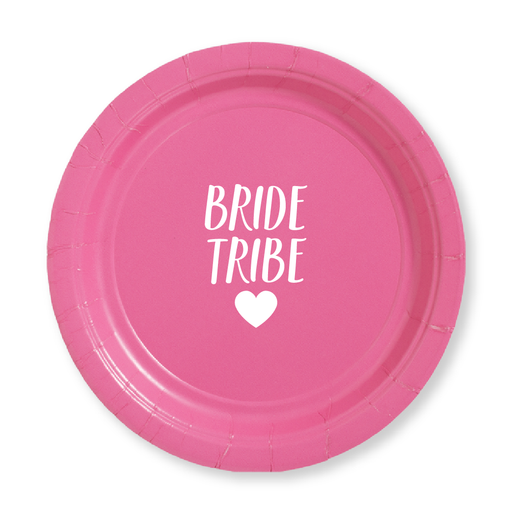 Bride Tribe Paper Plates