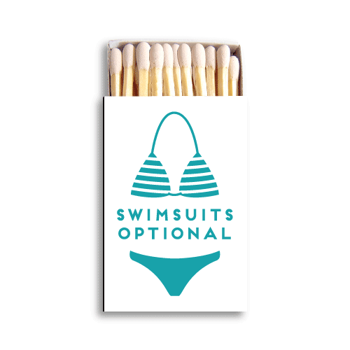 Swimsuits Optional Matchboxes