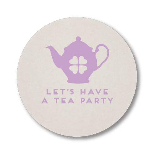 Let's Have a Tea Party Coasters