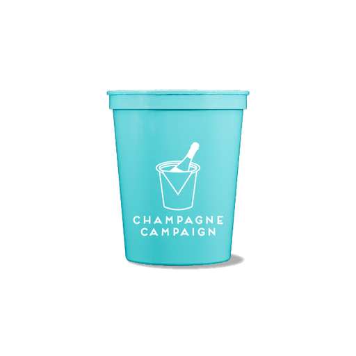 Champagne Campaign Party Cups