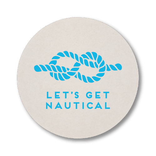 Let's Get Nautical Coasters