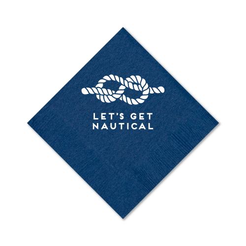 Let's Get Nautical Cocktail Napkins