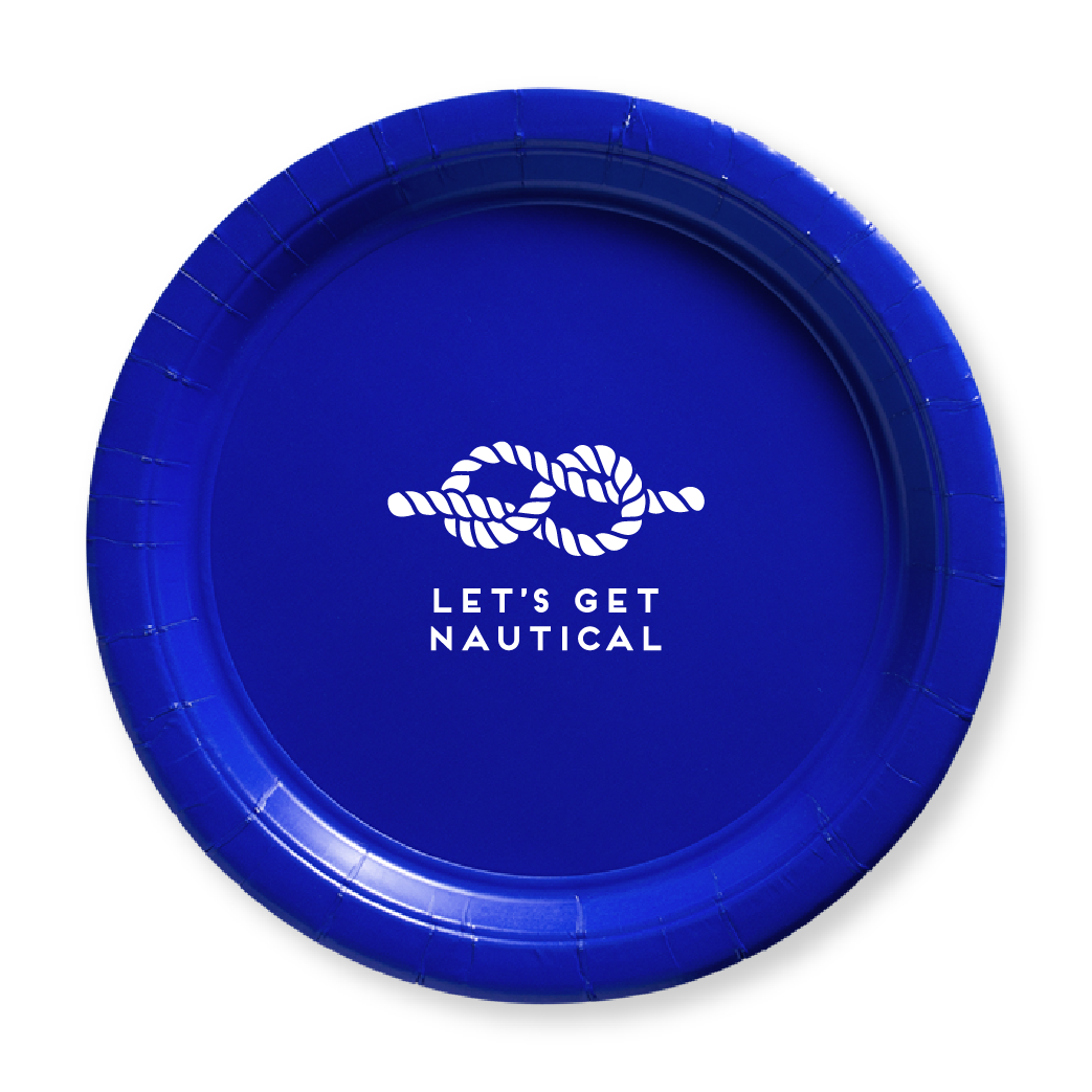 Let's Get Nautical Paper Plates