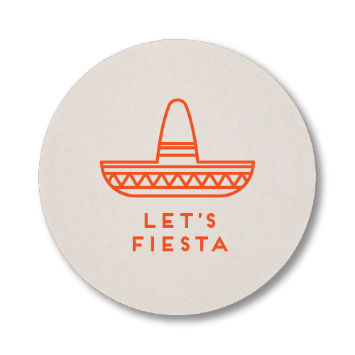 Let's Fiesta Coasters