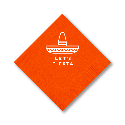 Let's Fiesta Cocktail Napkins
