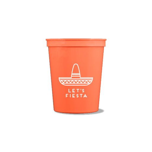 Let's Fiesta Party Cups